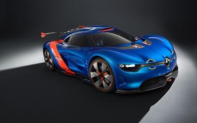 2012 Alpine A 110-50 Concept wallpaper thumbnail.