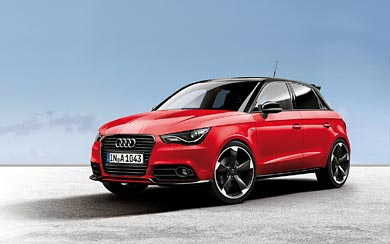 2012 Audi A1 Amplified wallpaper thumbnail.