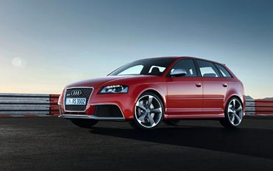 2012 Audi RS3 Sportback wallpaper thumbnail.