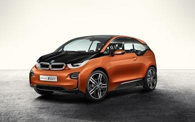 2012 BMW i3 Coupe Concept wallpaper thumbnail.