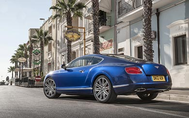 2012 Bentley Continental GT Speed wallpaper thumbnail.