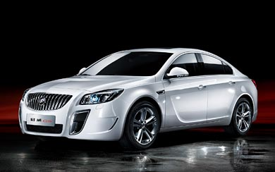 2012 Buick Regal GS wallpaper thumbnail.