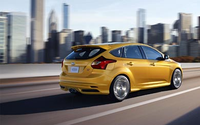2012 Ford Focus ST wallpaper thumbnail.