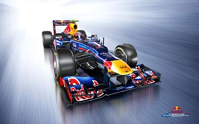 2012 Red Bull Racing RB8 wallpaper thumbnail.