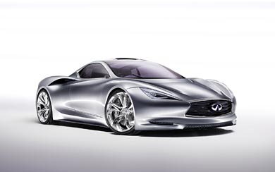 2012 Infiniti Emerg E Concept wallpaper thumbnail.