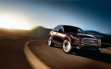 2012 Infiniti FX 50 wallpaper thumbnail.