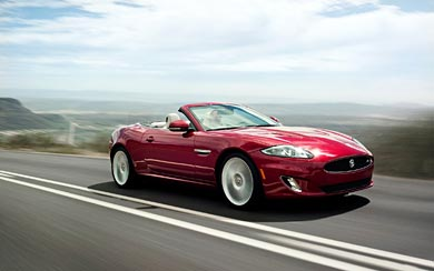 2012 Jaguar XKR wallpaper thumbnail.