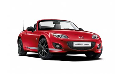 2012 Mazda MX-5 Senshu wallpaper thumbnail.