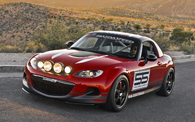 2012 Mazda MX-5 Super 25 Concept wallpaper thumbnail.