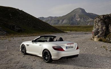 2012 Mercedes-Benz SLK 55 AMG wallpaper thumbnail.