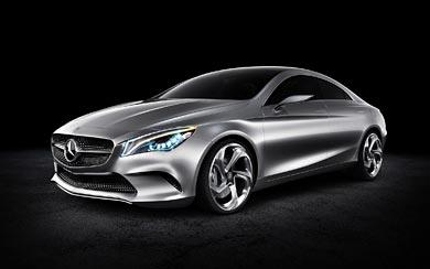 2012 Mercedes-Benz Style Coupe Concept wallpaper thumbnail.