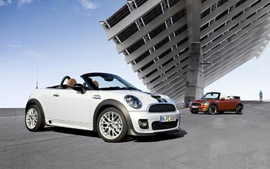 2012 Mini Roadster wallpaper thumbnail.