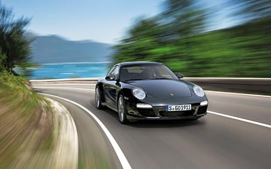 2012 Porsche 911 Black Edition wallpaper thumbnail.