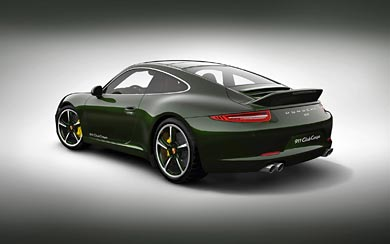 2012 Porsche 911 Club Coupe wallpaper thumbnail.
