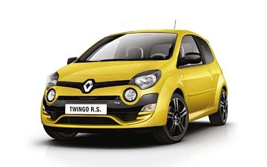 2012 Renault Twingo RS wallpaper thumbnail.
