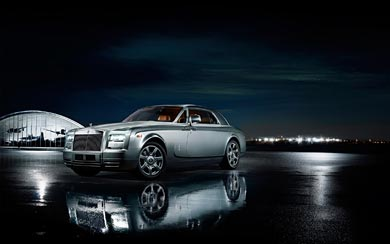2012 Rolls-Royce Phantom Coupe Aviator Collection wallpaper thumbnail.