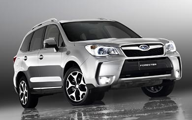 2012 Subaru Forester XT wallpaper thumbnail.