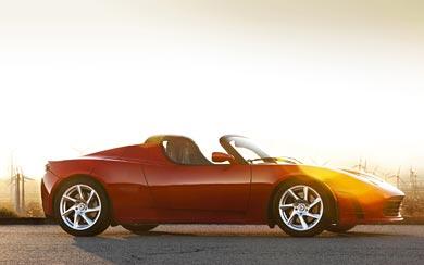 2012 Tesla Roadster Sport wallpaper thumbnail.