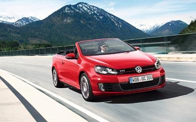 2012 Volkswagen Golf GTI Cabriolet wallpaper thumbnail.