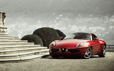 2013 Alfa Romeo Disco Volante Touring wallpaper thumbnail.