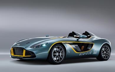 2013 Aston Martin CC100 Speedster Concept wallpaper thumbnail.