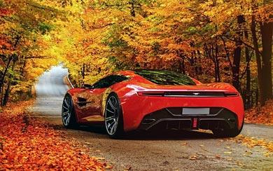 2013 Aston Martin DBC Concept by Samir Sadikhov wallpaper thumbnail.