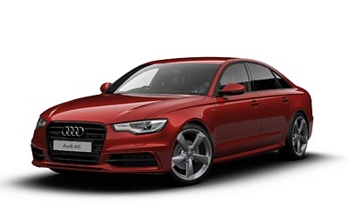 2013 Audi A6 Black Edition wallpaper thumbnail.