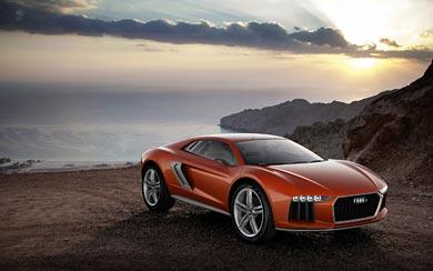 2013 Audi Nanuk Quattro Concept wallpaper thumbnail.