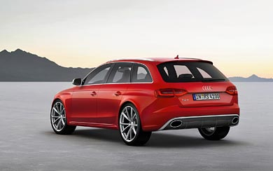 2013 Audi RS4 Avant wallpaper thumbnail.