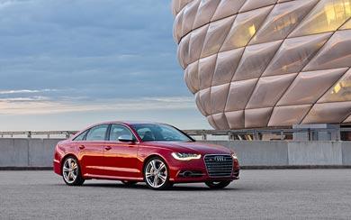 2013 Audi S6 wallpaper thumbnail.