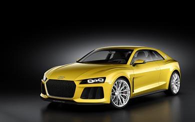 2013 Audi Sport Quattro Concept wallpaper thumbnail.
