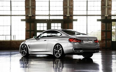2013 BMW 4-Series Coupe Concept wallpaper thumbnail.