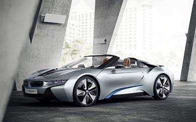 2013 BMW i8 Spyder Concept wallpaper thumbnail.