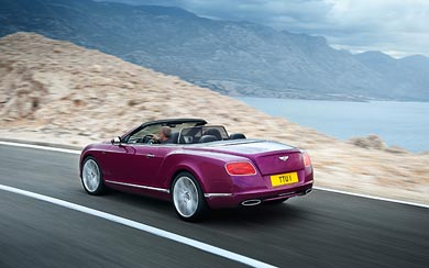 2013 Bentley Continental GT Speed Convertible wallpaper thumbnail.