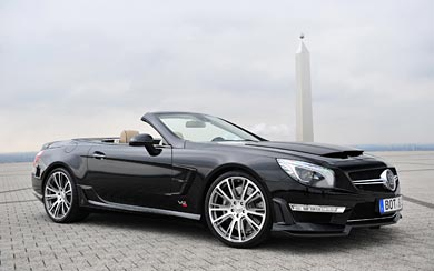 2013 Brabus 800 Roadster wallpaper thumbnail.