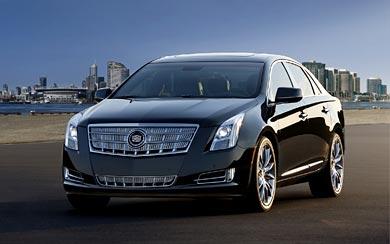 2013 Cadillac XTS wallpaper thumbnail.