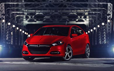 2013 Dodge Dart GT wallpaper thumbnail.