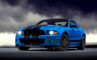 2013 Ford Shelby Mustang GT500 wallpaper thumbnail.
