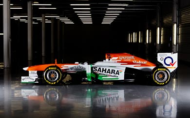 2013 Force India VJM06 wallpaper thumbnail.