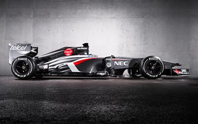 2013 Sauber F1 C32 wallpaper thumbnail.