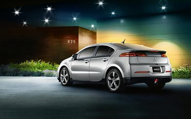 2013 Holden Volt wallpaper thumbnail.