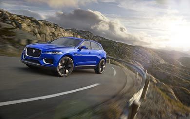 2013 Jaguar C-X17 Concept wallpaper thumbnail.