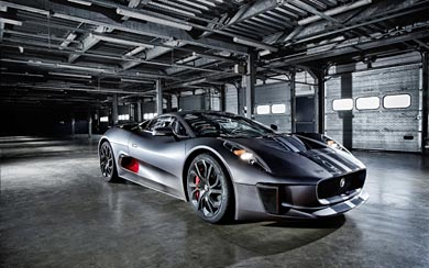 2013 Jaguar C-X75 Prototype wallpaper thumbnail.