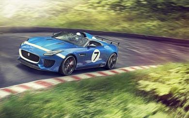 2013 Jaguar Project 7 Concept wallpaper thumbnail.
