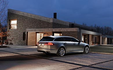 2013 Jaguar XF Sportbrake wallpaper thumbnail.