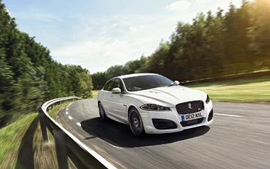 2013 Jaguar XFR Speed Pack wallpaper thumbnail.