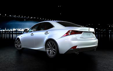 2013 Lexus IS 250 F Sport wallpaper thumbnail.