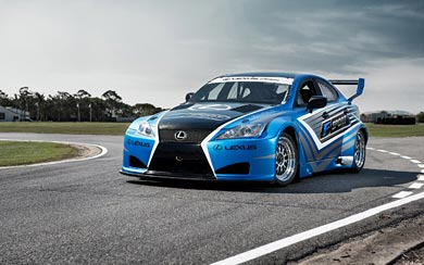2013 Lexus IS-F Race Car wallpaper thumbnail.