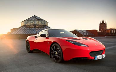 2013 Lotus Evora Sports Racer wallpaper thumbnail.
