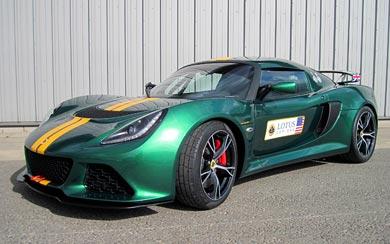 2013 Lotus Exige V6 Cup wallpaper thumbnail.